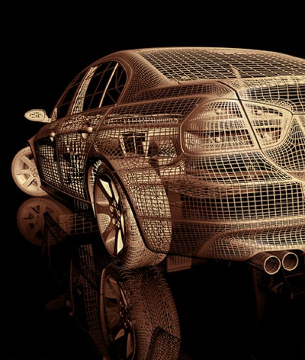 Get your 3D glasses out – cars (and parts!) are going futuristic