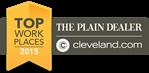 The Plain Dealer Top Workplaces Badge 2015